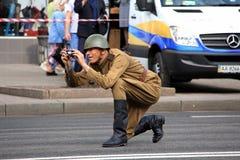 Desfile de la victoria Imagenes de archivo