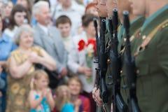 Desfile de la victoria Fotografía de archivo libre de regalías