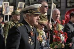 Desfile de la victoria Fotos de archivo