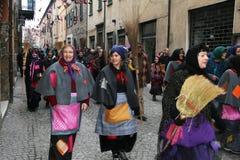 Desfile de las brujas Imagenes de archivo