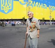 Desfile de las fuerzas armadas de arma y del Guardia Nacional Foto de archivo libre de regalías