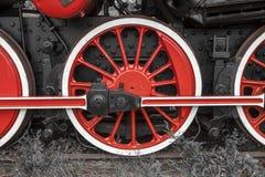 Desfile de las locomotoras de vapor Fotos de archivo libres de regalías