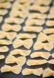 Desfile de las pastas - macarrones Fotos de archivo