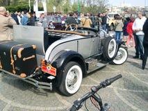 Desfile de los coches del vintage Fotografía de archivo