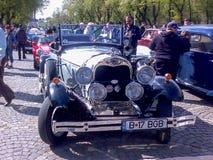 Desfile de los coches del vintage Imagen de archivo