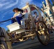 Desfile de los días de fiesta de la Navidad del mundo de Orlando Disney Fotografía de archivo libre de regalías