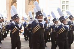 Desfile de los días del ` s Charro de los niños de BISD fotografía de archivo libre de regalías