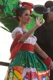 Desfile de los días del ` s Charro de los niños de BISD imagenes de archivo