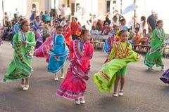 Desfile de los días del ` s Charro de los niños de BISD imágenes de archivo libres de regalías