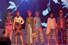 Desfile de moda Fotos de archivo