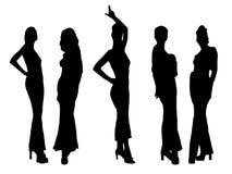 Desfile de moda Fotografia de Stock Royalty Free