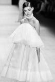 Desfile de moda de Jessica Van Imagen de archivo