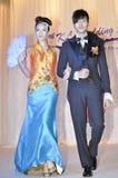 Desfile de moda de Keith Kee imagen de archivo libre de regalías
