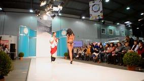Desfile de moda de la ropa interior de ANABEL ARTO, Kiev, Ucrania