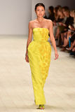 Desfile de moda de Oscar de la Renta fotografia de stock