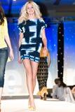 Desfile de moda de Saks Fifth Avenue Fotografía de archivo libre de regalías