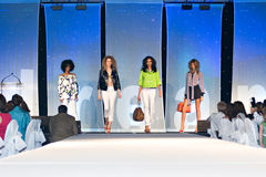 Desfile de moda de Saks Fifth Avenue Imagem de Stock
