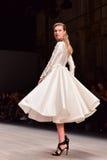 Desfile de moda de Steven Khalil Fotografia de Stock Royalty Free