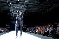 Desfile de moda de Valencia Imágenes de archivo libres de regalías