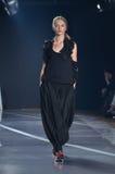 Desfile de moda de Y-3 New York Imagem de Stock Royalty Free