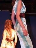 Desfile de moda del estudiante Foto de archivo libre de regalías