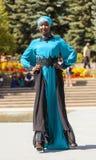 Desfile de moda del Extremo Oriente Foto de archivo