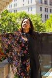 Desfile de moda del Extremo Oriente Imágenes de archivo libres de regalías