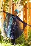 Desfile de moda del Extremo Oriente Foto de archivo libre de regalías