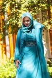 Desfile de moda del Extremo Oriente Imagenes de archivo