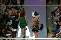 Desfile de moda del resorte Fotografía de archivo