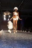 Desfile de moda en Varsovia imagen de archivo