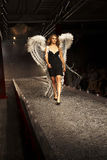 Desfile de moda en Varsovia imágenes de archivo libres de regalías