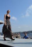 Desfile de moda israelita em St Petersburg Fotografia de Stock