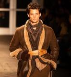 Desfile de moda 2019 de Joseph Abboud Mens Fall como parte del New York Fashion Week imagenes de archivo