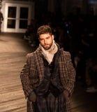 Desfile de moda 2019 de Joseph Abboud Mens Fall como parte del New York Fashion Week fotografía de archivo libre de regalías
