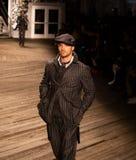 Desfile de moda 2019 de Joseph Abboud Mens Fall como parte del New York Fashion Week foto de archivo libre de regalías