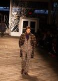 Desfile de moda 2019 de Joseph Abboud Mens Fall como parte del New York Fashion Week fotografía de archivo