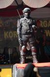 Desfile de moda militar Fotos de Stock Royalty Free