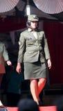Desfile de moda militar Fotografia de Stock Royalty Free