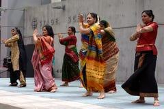 Desfile de moda multicultural Fotos de Stock Royalty Free