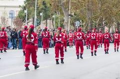 Desfile de Ohi Day en Salónica Imagen de archivo