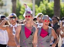 Desfile de orgullo en sitges Fotografía de archivo