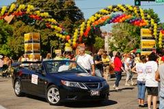 Desfile de orgullo gay Imagenes de archivo