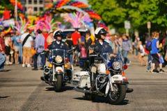 Desfile de orgullo gay Imagen de archivo libre de regalías
