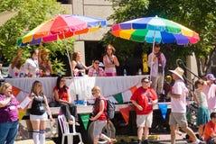 Desfile de orgullo gay Imágenes de archivo libres de regalías