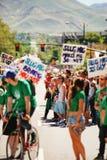 Desfile de orgullo gay Fotos de archivo libres de regalías