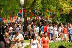Desfile de orgullo gay Fotos de archivo