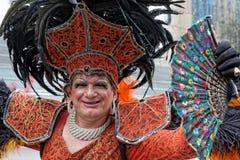 Desfile de orgullo gay de LGBT Sao Paulo el Brasil Fotos de archivo libres de regalías