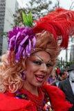 Desfile de orgullo gay de LGBT Sao Paulo el Brasil Imagen de archivo
