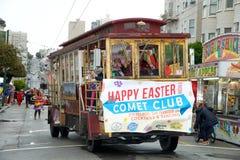 Desfile de Pascua en San Francisco, calle de la unión Fotografía de archivo